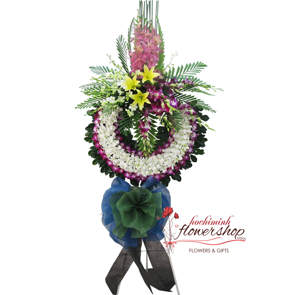 Send sympathy flowers to hochiminh city online