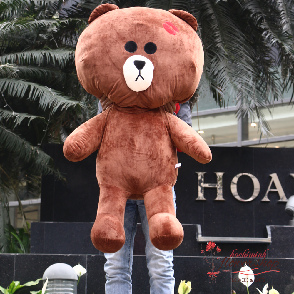 Teddy bear in HCMC free delivery
